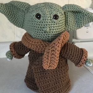 Homemade baby Yoda